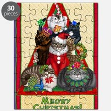Meowy Christmas Puzzle