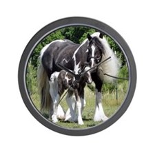Champion Gypsy mare and colt Wall Clock