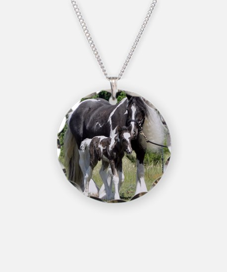Champion Gypsy mare and colt Necklace