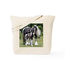 Champion Gypsy mare and colt Tote Bag