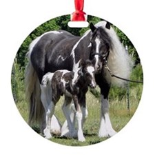 Champion Gypsy mare and colt Ornament
