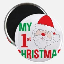 My 1st Christmas Santa Claus Magnet