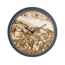 globetheatre1 Wall Clock