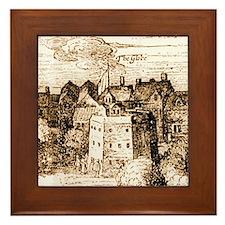 globetheatre3 Framed Tile