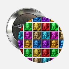 "Pop Art Shakespeare 2.25"" Button"