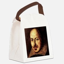 William Shakespeare Portrait Canvas Lunch Bag