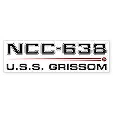 USS Grissom Bumper Sticker