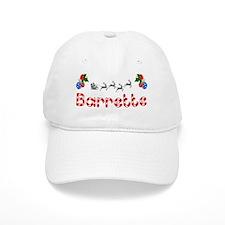 Barrette, Christmas Baseball Cap