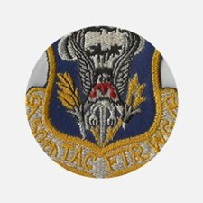"50th Tactical Fighter wing 3.5"" Button"