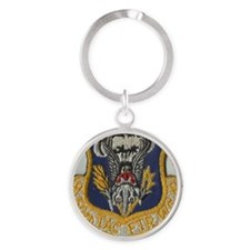 50th Tactical Fighter wing Round Keychain