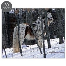 Gypsy Gelding in Winter Setting Puzzle