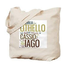 othello-collage Tote Bag