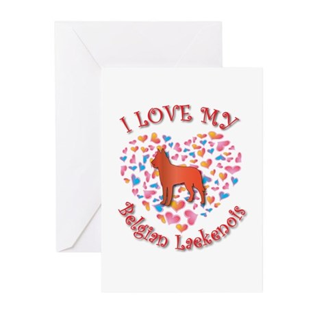 Love Laekenois Greeting Cards (Pk of 10)