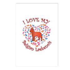 Love Laekenois Postcards (Package of 8)