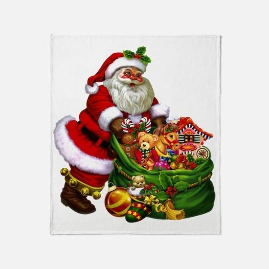 Santa Claus! Throw Blanket