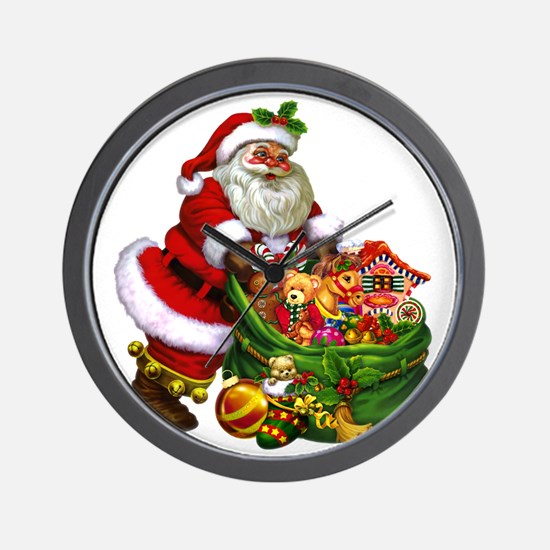 Santa Claus! Wall Clock