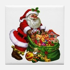 Santa Claus! Tile Coaster
