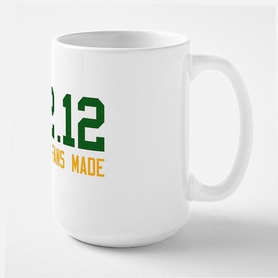 Green and Gold Large Mug