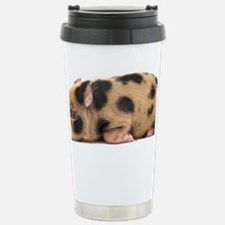 Micro pig sleeping Travel Mug