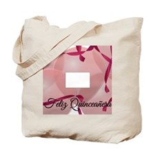 PictureFrameCafePress-Quinceanera-PinkBal Tote Bag