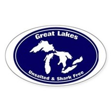 GREAT LAKES SHARK FREE Decal