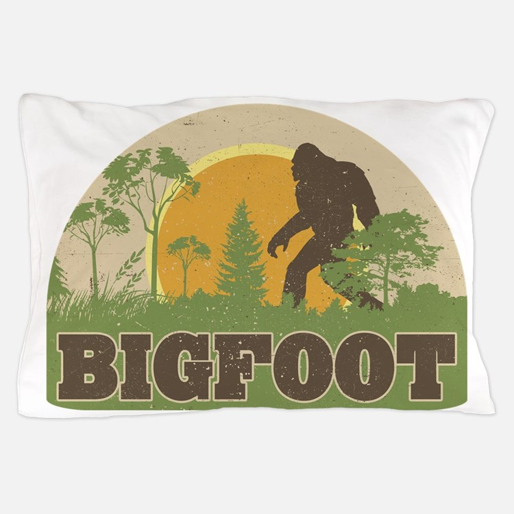Bigfoot Pillow Case