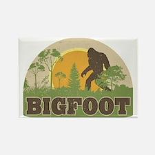 Bigfoot Rectangle Magnet