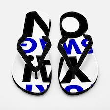 Turn Ya Swag On Flip Flops