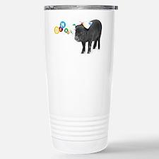 Little female micro pig Travel Mug