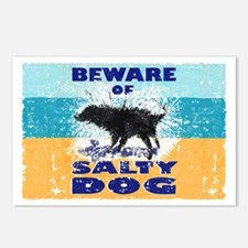 Salty Dog Magnet Postcards (Package of 8)