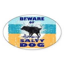 Salty Dog Magnet Decal
