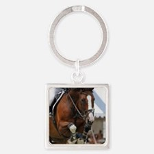 D1392-002cropart Square Keychain