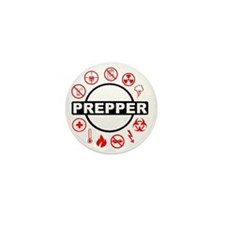 prepper Mini Button