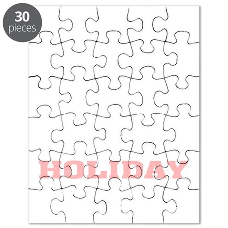 Holiday Armadillo Puzzle