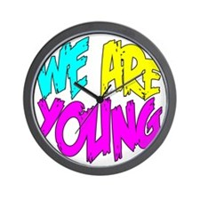 We Are Young Wall Clock