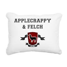 Applecrappy  Felch Rectangular Canvas Pillow