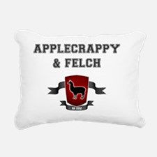 Applecrappy  Felch Rectangular Canvas Pillow