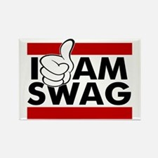 I Am Swag Rectangle Magnet