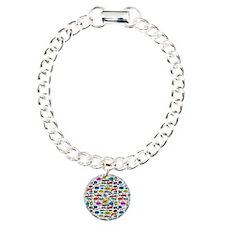 Comic Book Charm Bracelet, One Charm