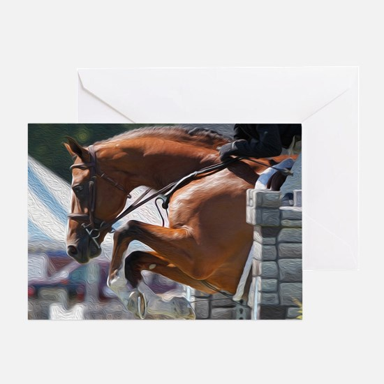 Over Fences D1389-013 Greeting Card