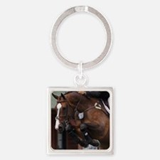 D1392-070cropart Square Keychain
