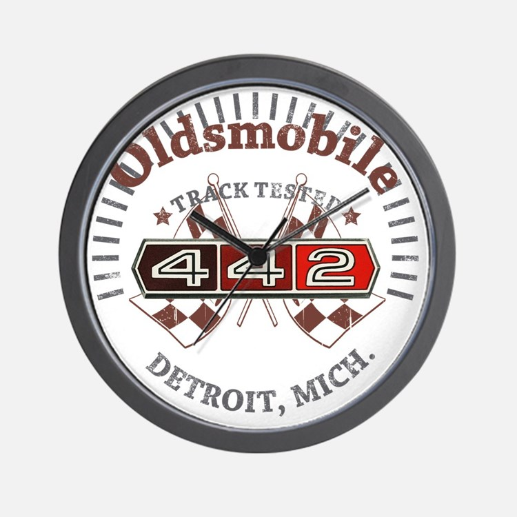 Olds 442 Wall Clock