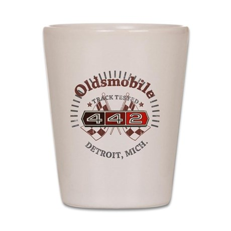 Olds 442 Shot Glass
