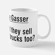 Nice Gasser Didnt The Sell Mens Trucks  Mug