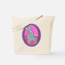 Bunny 'n Chicks Pink/Blue Tote Bag
