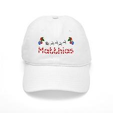 Matthias, Christmas Baseball Cap