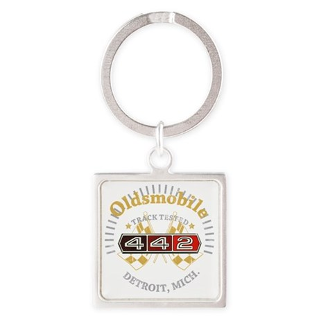 Olds 442 Square Keychain