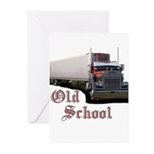 Old School Greeting Cards (Pk of 10)
