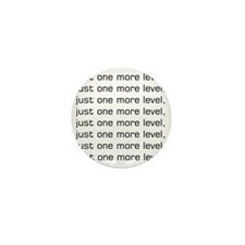 One More Level Tee Mini Button