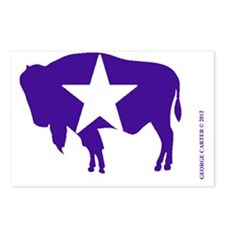 American  Bison Secession Postcards (Package of 8)